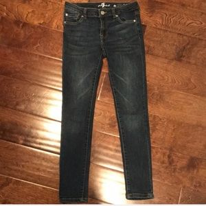 7 for All Mankind Girls Skinny Jeans Size 10